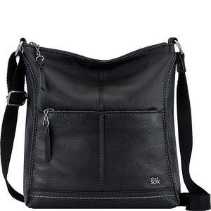 The Sak Lucia Leather Crossbody Bag - Black